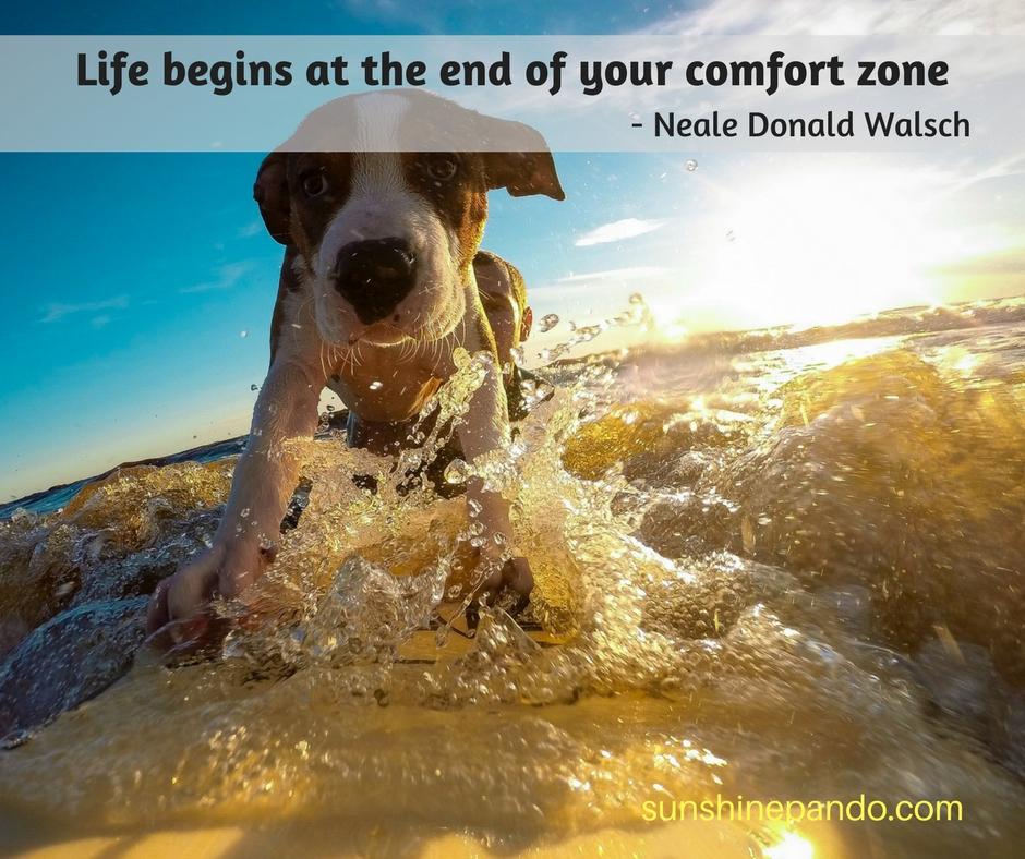 Go for it beyond your comfort zone!  - Sunshine Prosthetics and Orthotics