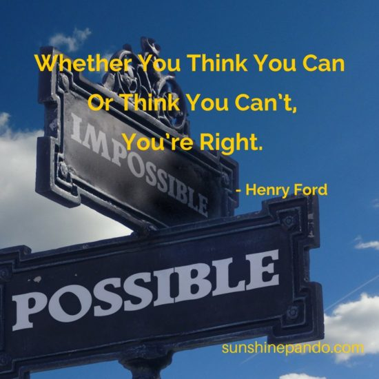 Think you can. - Sunshine Prosthetics and Orthotics
