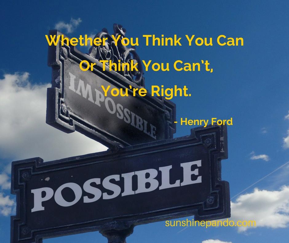 Think you can. - Sunshine Prosthetics and Orthotics