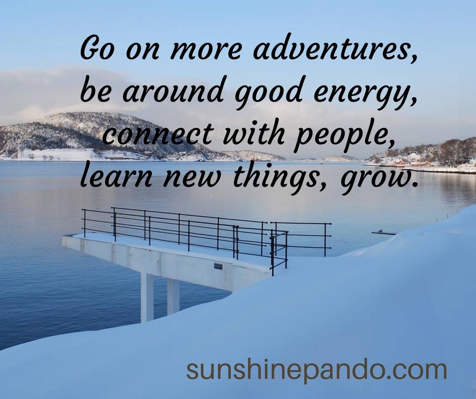 Adventures, good energy, connect, grow - Sunshine Prosthetics and Orthotics