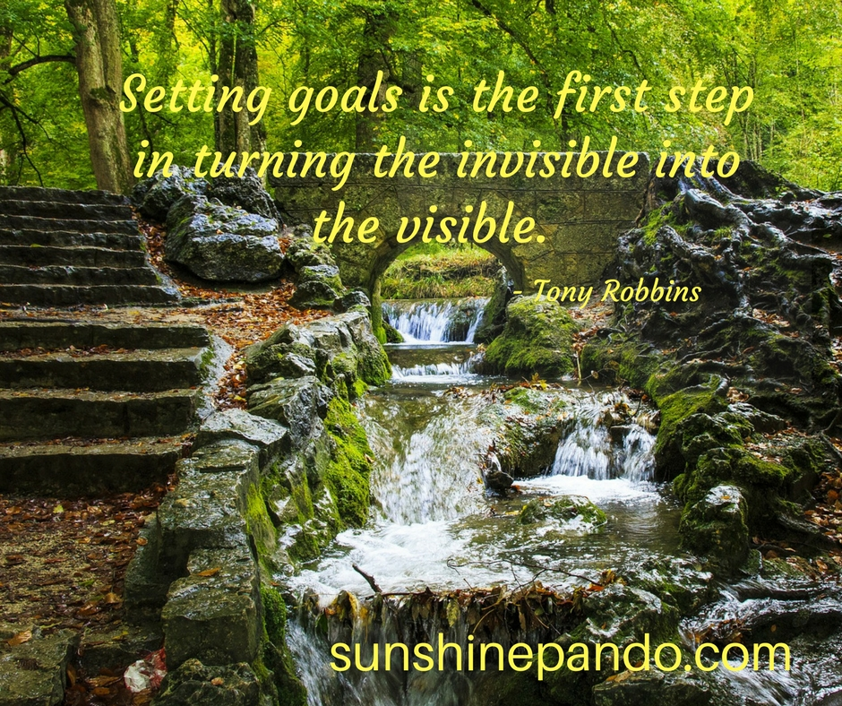 Set goals to turn the invisible into the visible - Sunshine Prosthetics and Orthotics