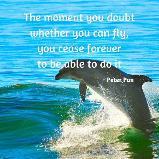Never doubt you can fly - Peter Pan - Sunshine Prosthetics and Orthotics