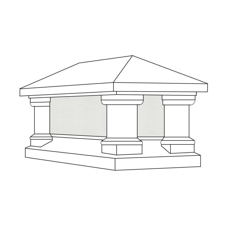 601 Chimney Shroud/Pot