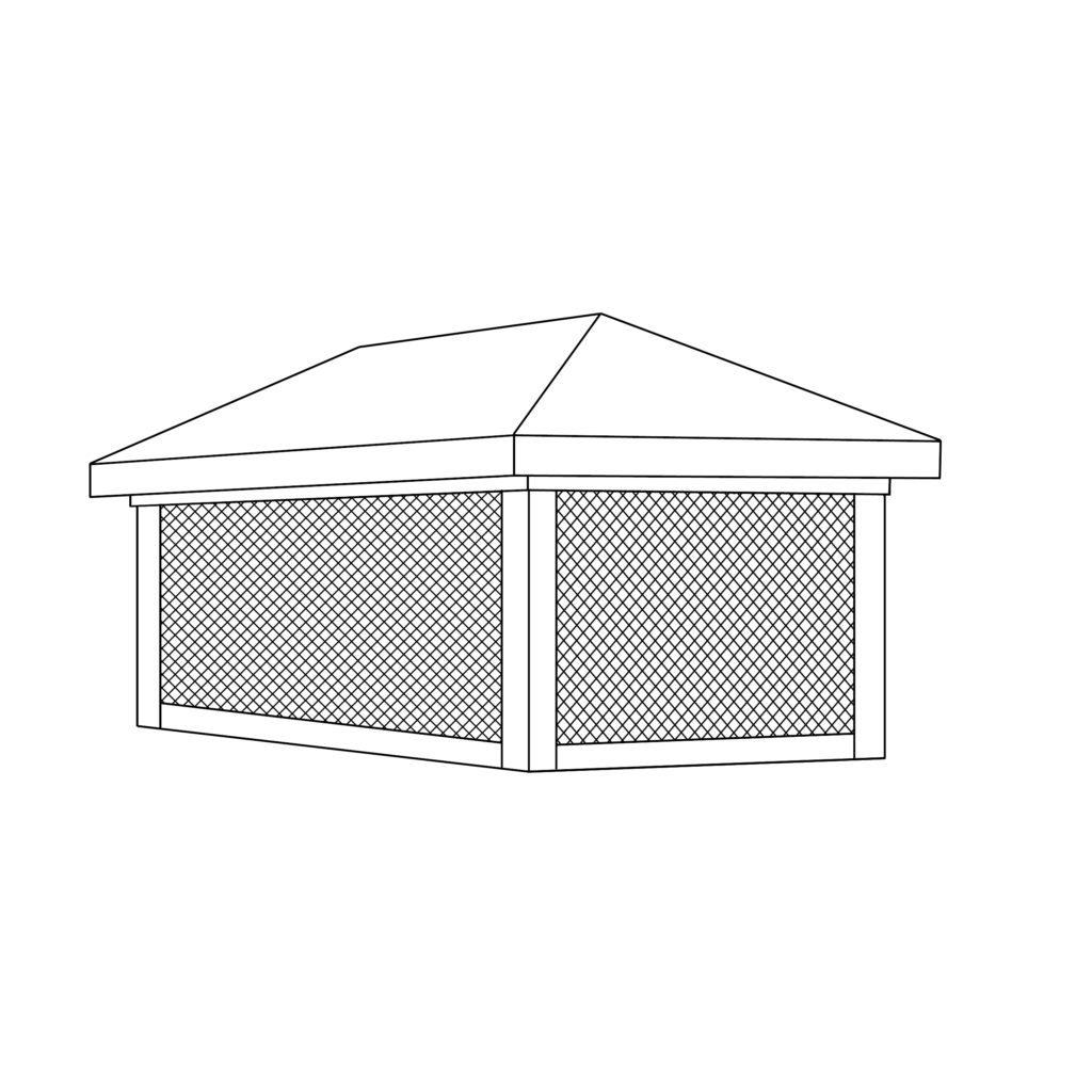 604 Chimney Shroud/Pot