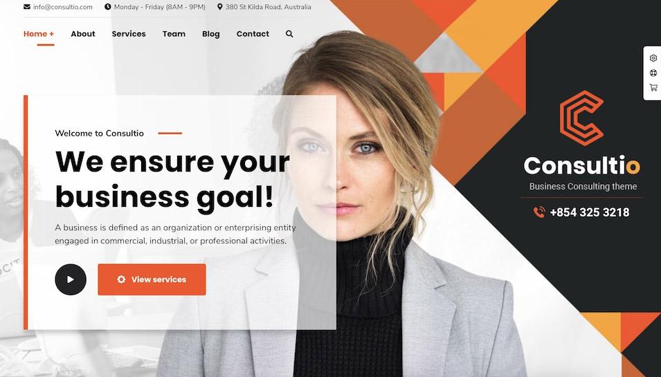 website builder business plus