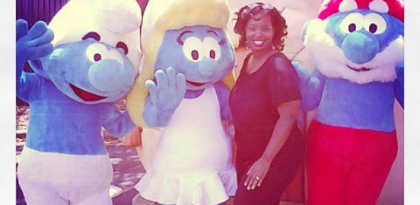 #Smurfs2 invasion July 31st and a tour of the Smurfs village @SixFlagsOverGa