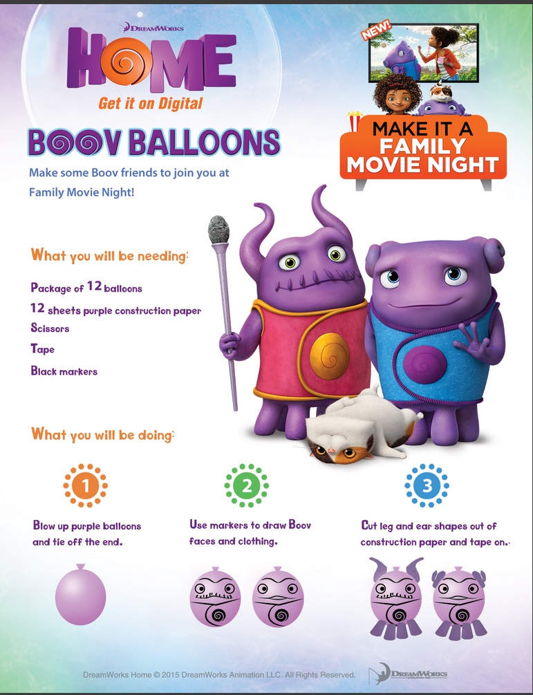 Boov Balloons