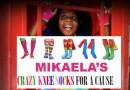 Raising Brown Girl Magic + Mikaela's Crazy Knee Socks For a Cause!