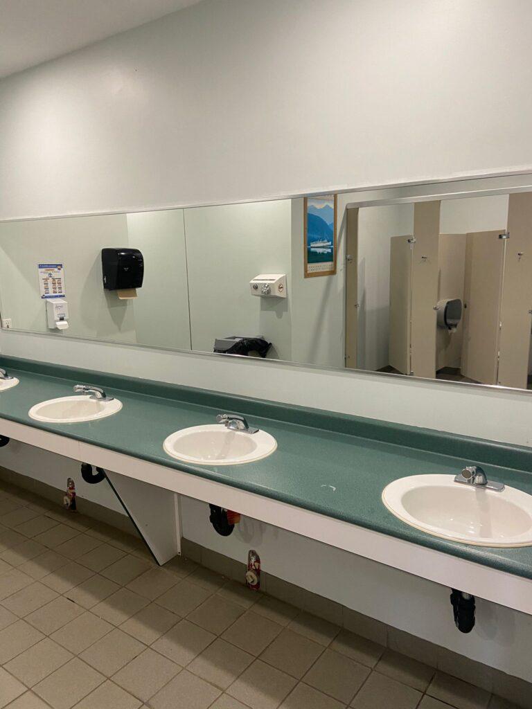 Large Washrooms