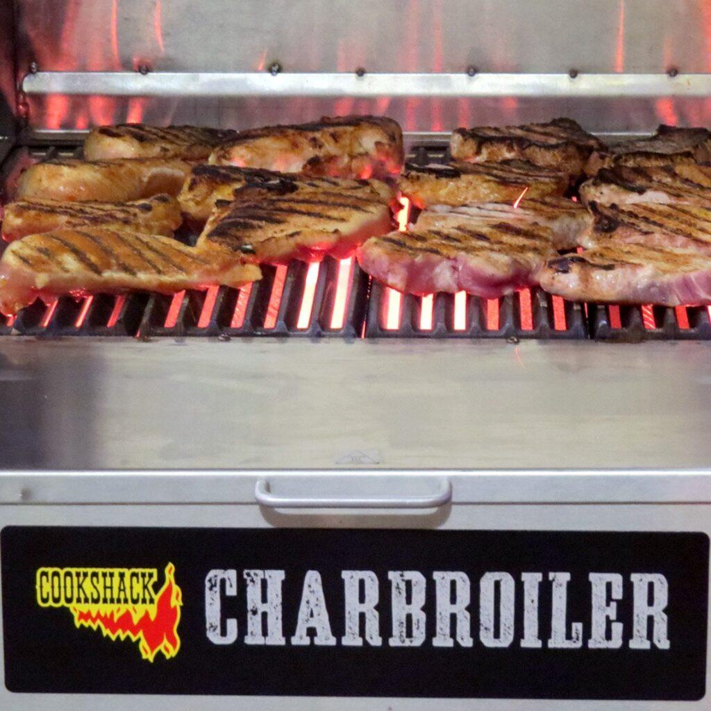 Charbroiler Pork Chops