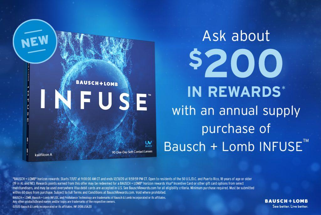 INFUSE Email Header Rewards