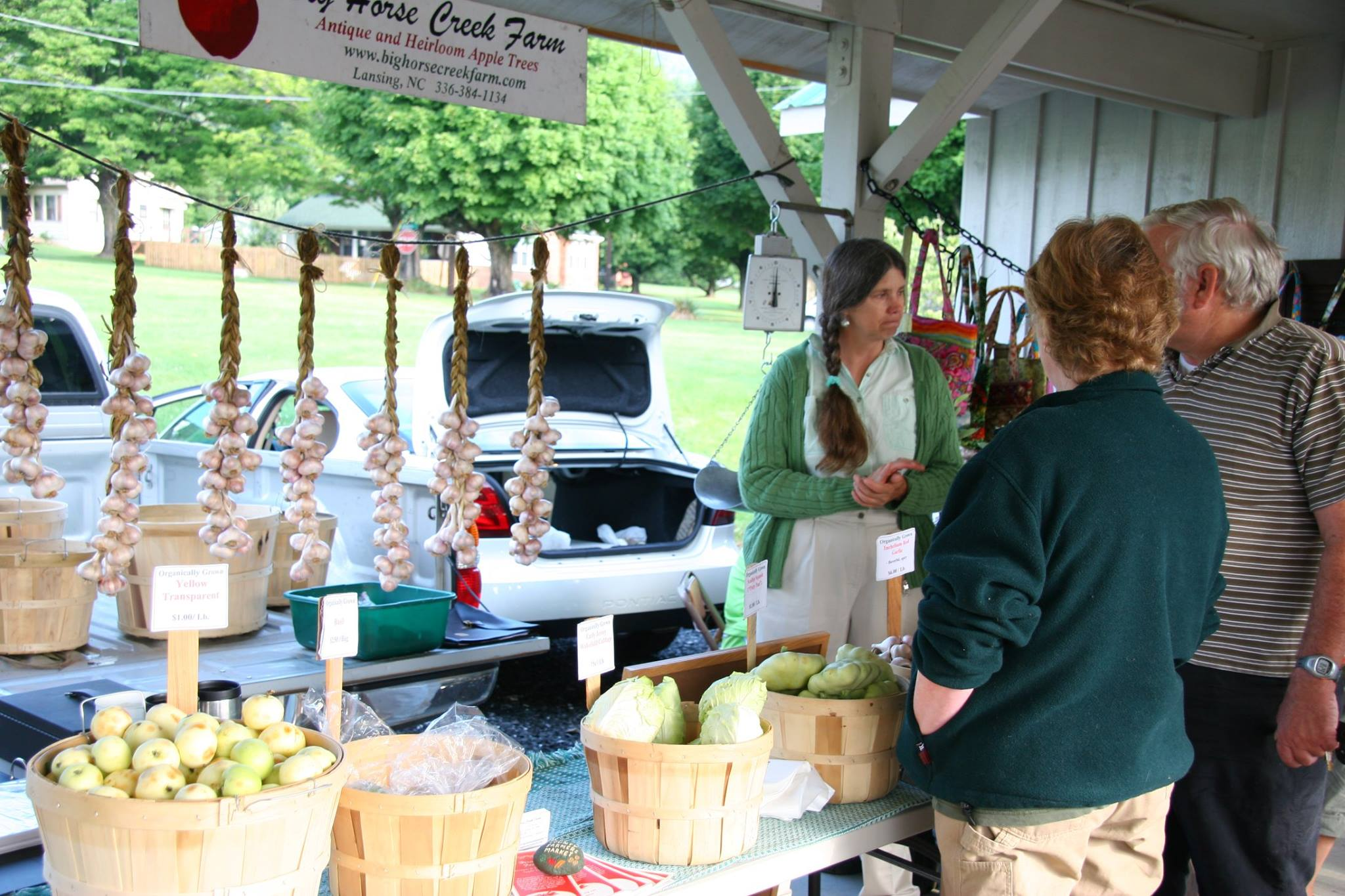 Opening Day 2021 at the Ashe County Farmers Market