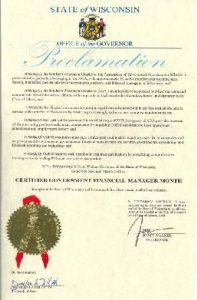 Governor Walker Proclamation
