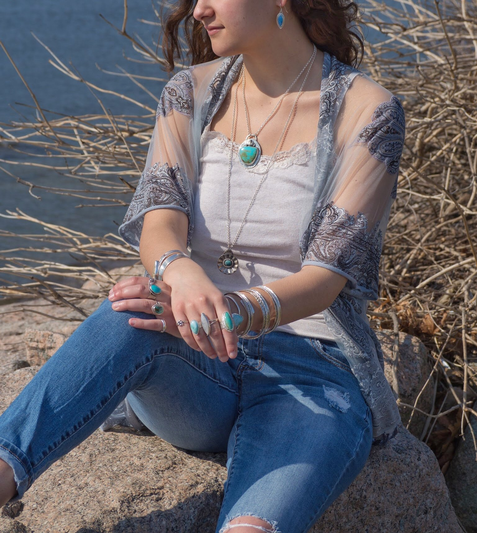 Jewelry styles by Silver Spiral Creations