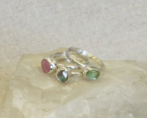 Tourmaline Stacking Ring
