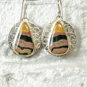 Scenic Ocean Jasper Earrings