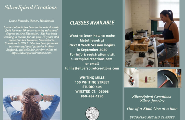 Sept 2020 Metalsmith Classes