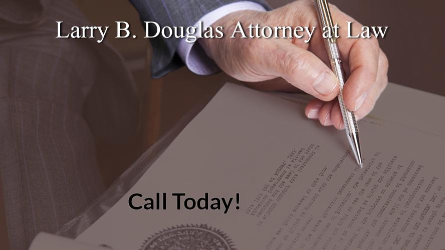 Larry B. Douglas Attorney at Law