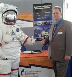 With a NASA Astronaut