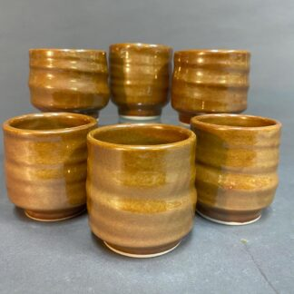 Saki/Burbon set of 6