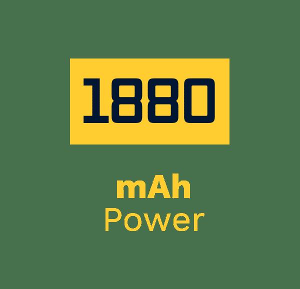 1880 mAh Power