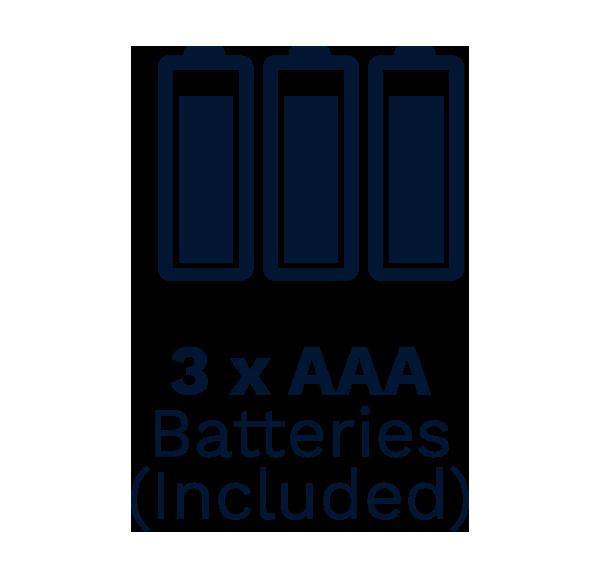 300 icon 3x batteries