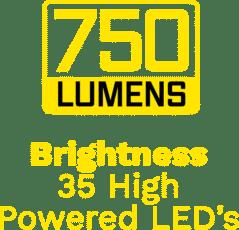 750 Lumens