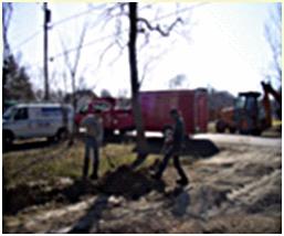 Waterford Sanitary District sewer repair