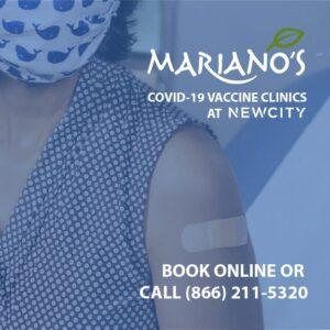 Mariano's Covid-19 Vaccine Clinics. Book Online or Call 866-211-5320