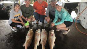Galveston TX Group Fishing in November and December