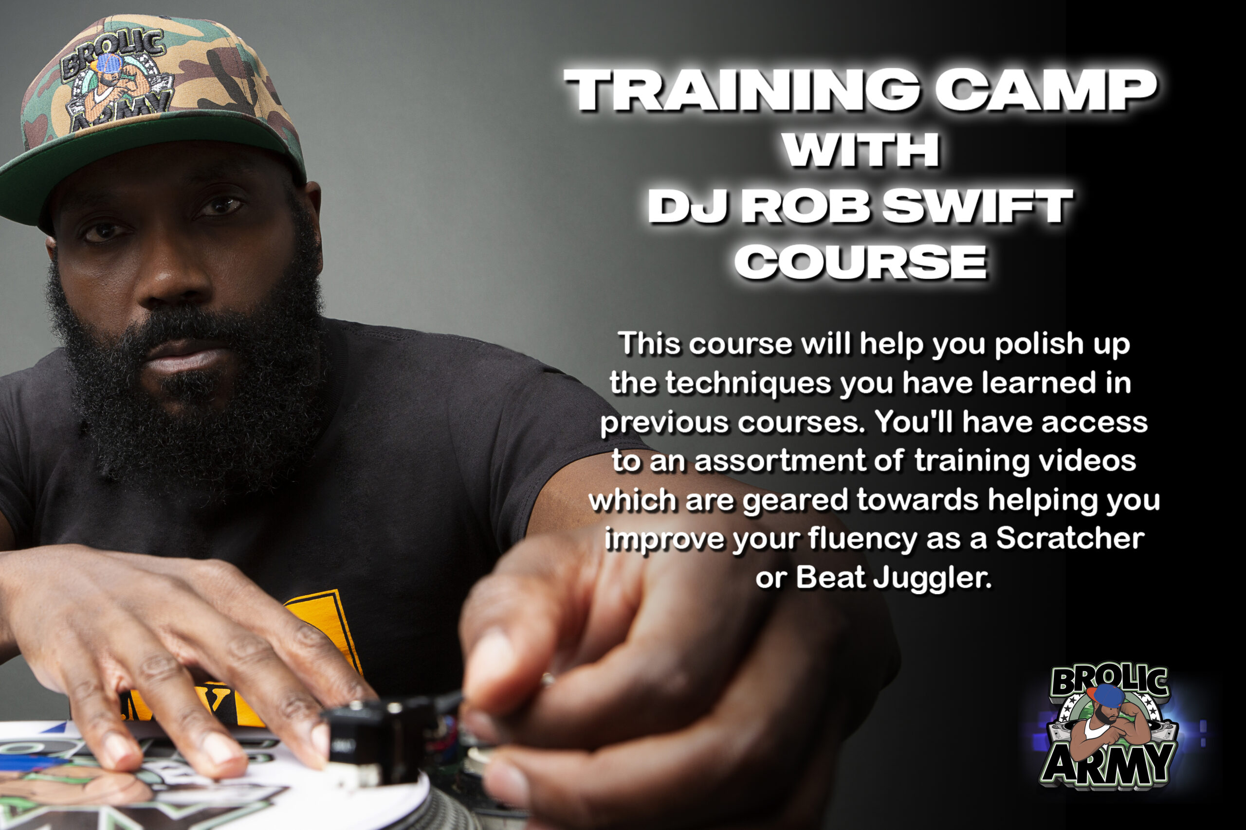 Training Camp with DJ Rob Swift Course Group