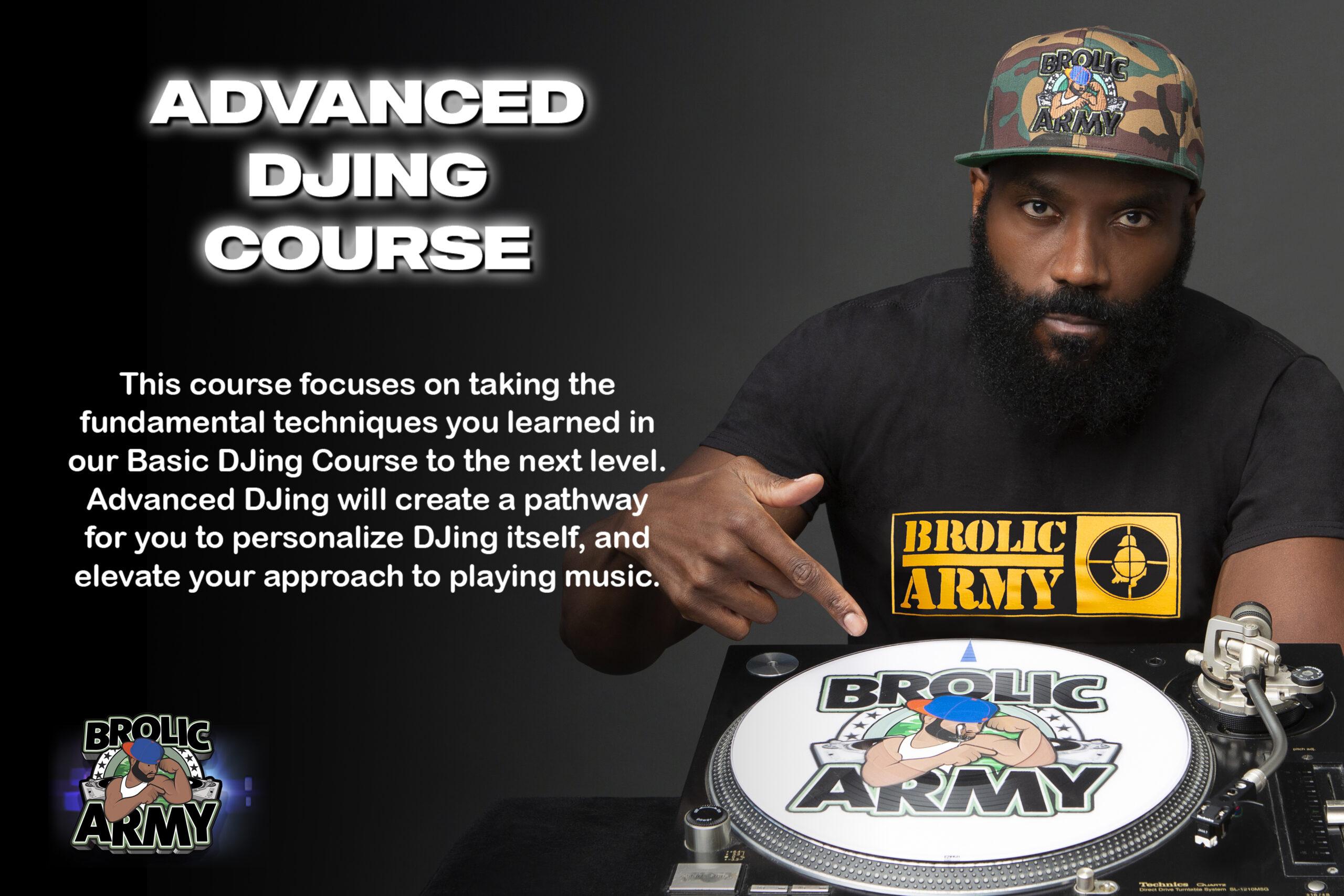 Advanced DJing Course Group