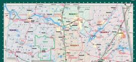 Alabama Tear Off Map 2015