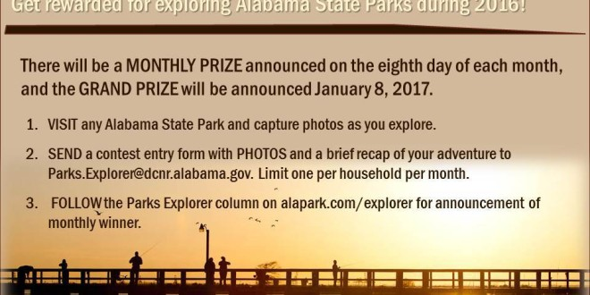 State Parks Announces Eighth Day Escape Adventure Series and Contest