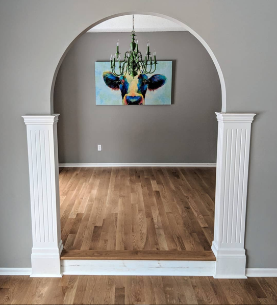 refinished floor example