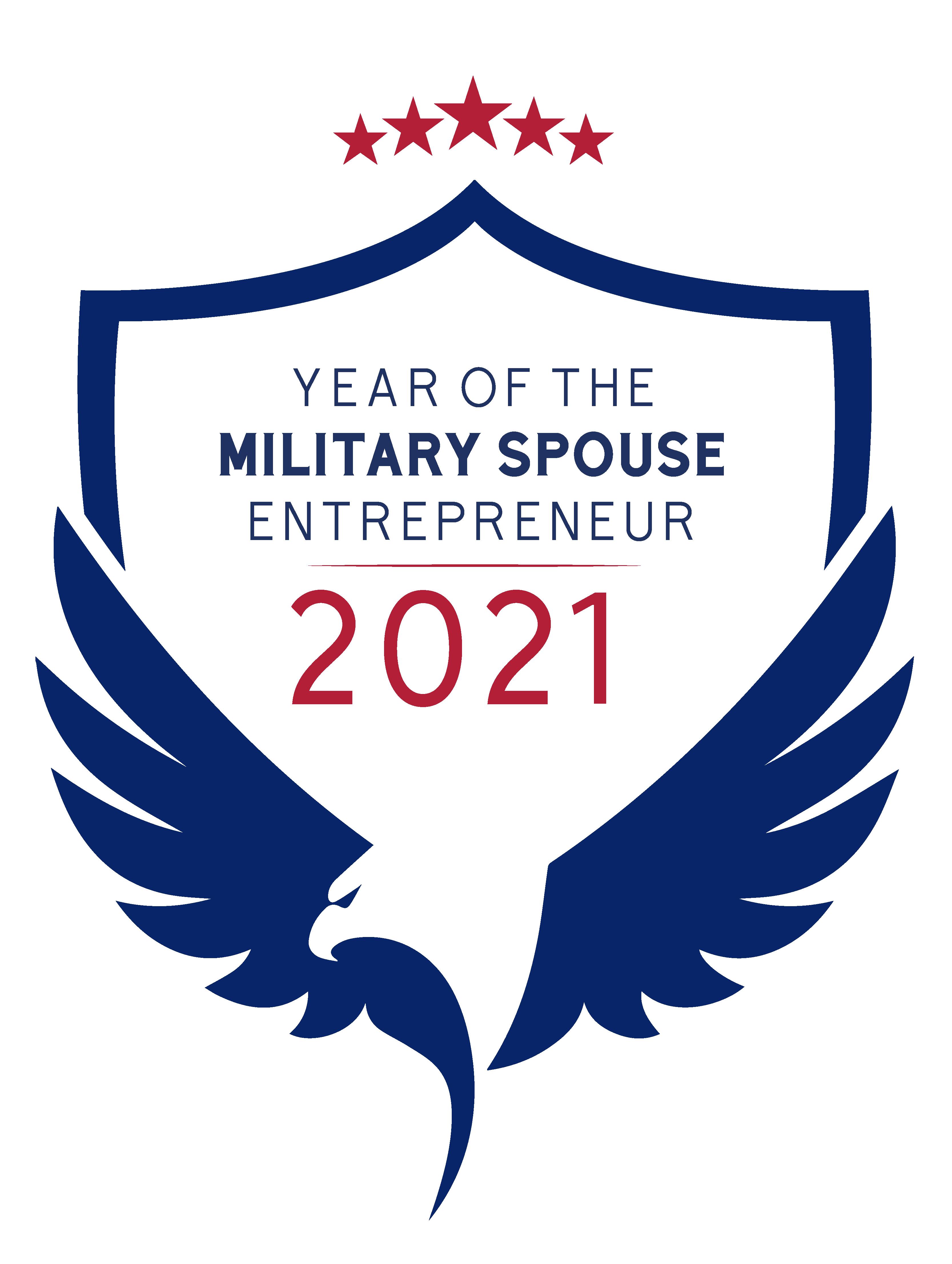 2021 Year of the Military Spouse Entrepreneur Logo