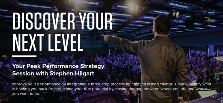 Tony Robbins Peak Performance Strategy