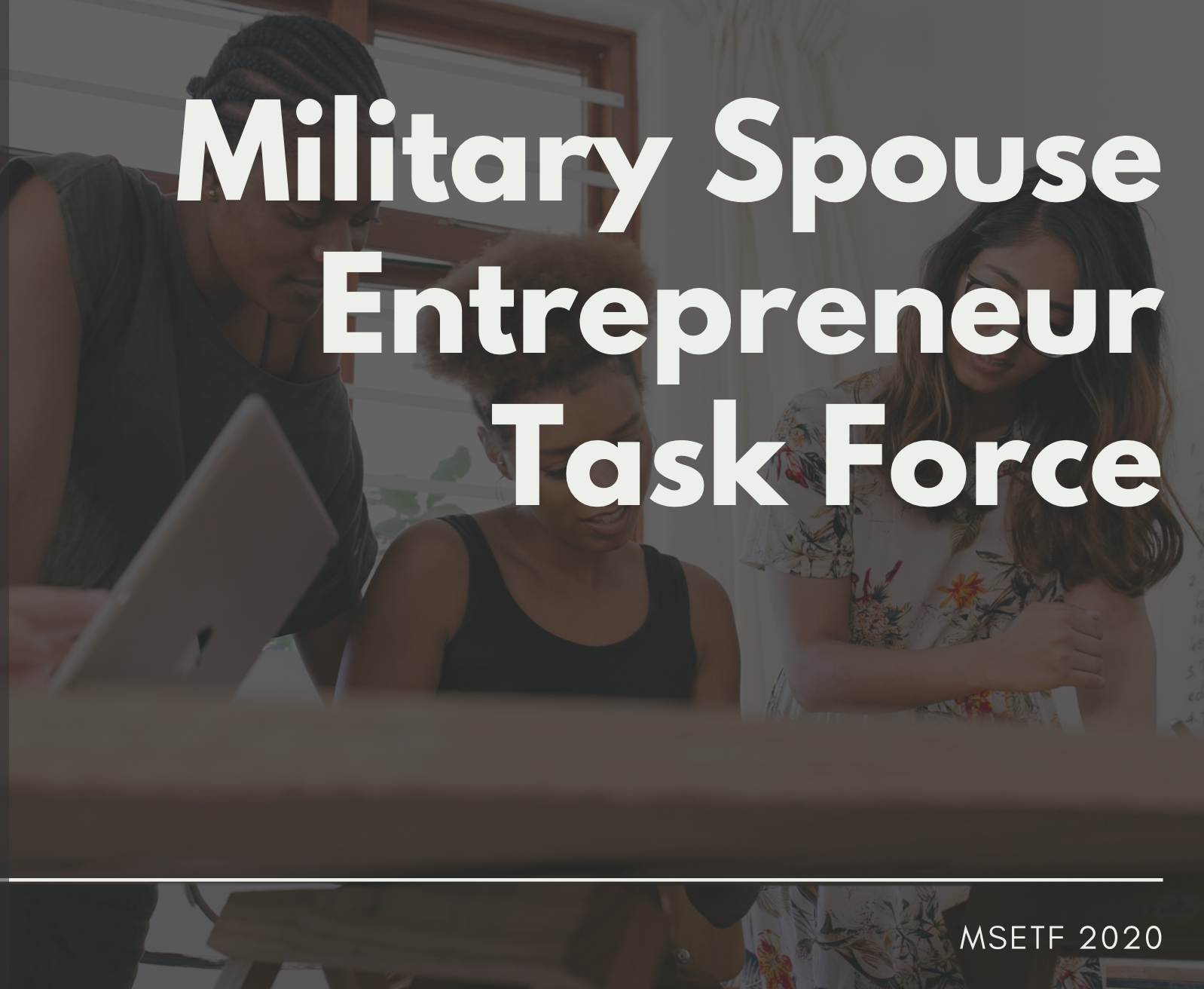 Military Spouse Entrepreneur Task Force About image
