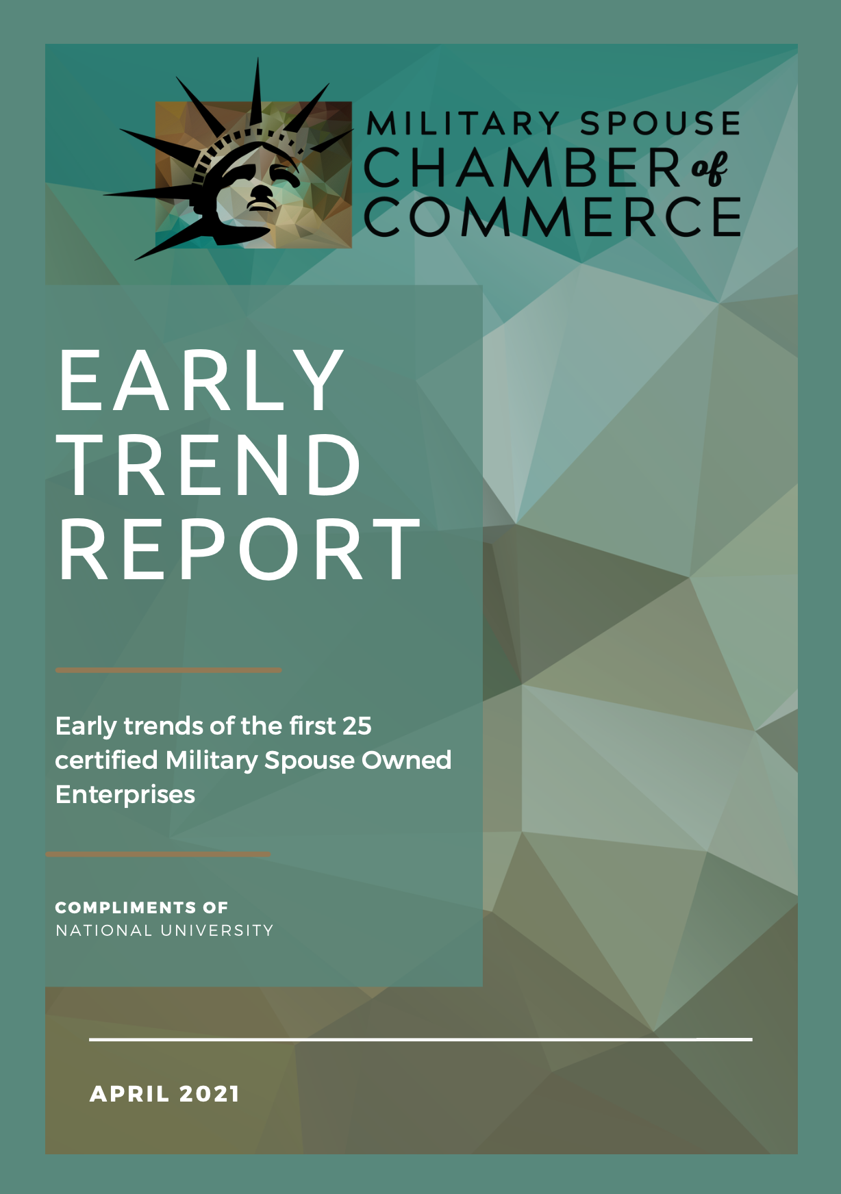 Early Trend Report April 2021 Cover Image