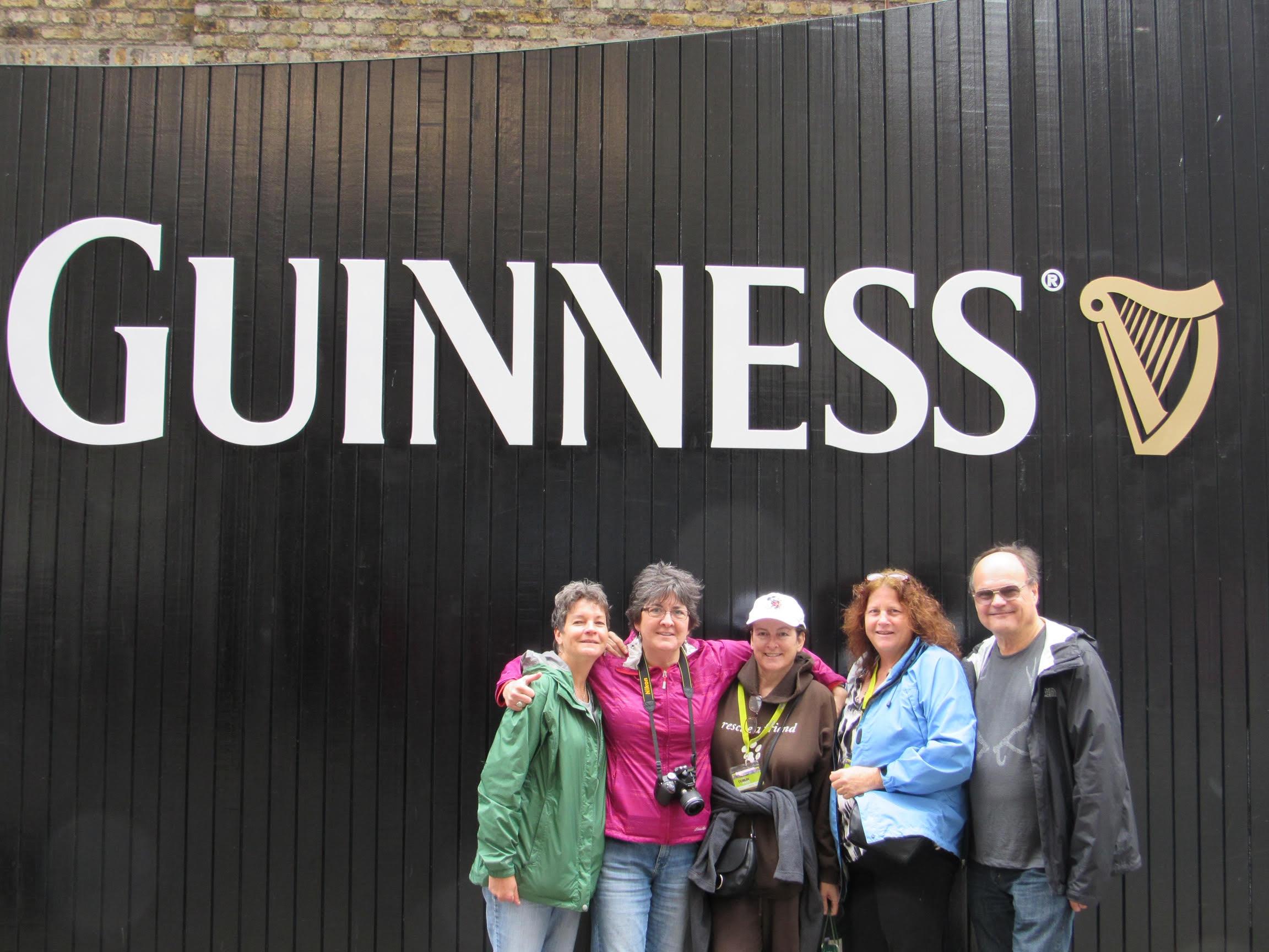 womens travel group at ireland pub