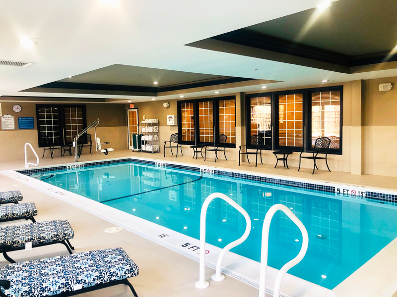 indoor pool at Comfort Inn Sturbridge
