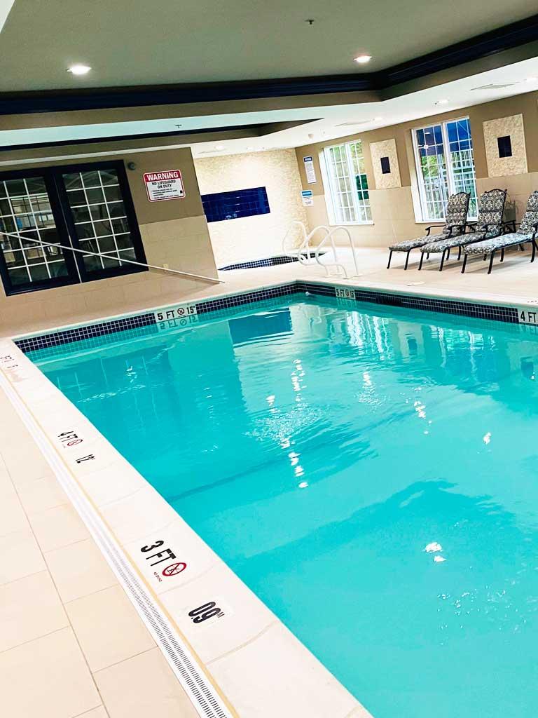 Sturbridge comfort inn indoor pool