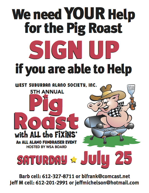 pig roast sign up 2015