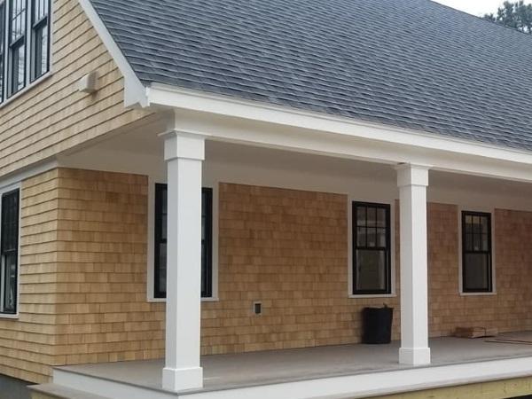 New Siding, Windows & Deck Job
