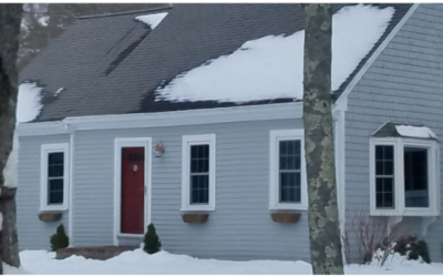 Cape Cod Exterior Renovation: Before and After