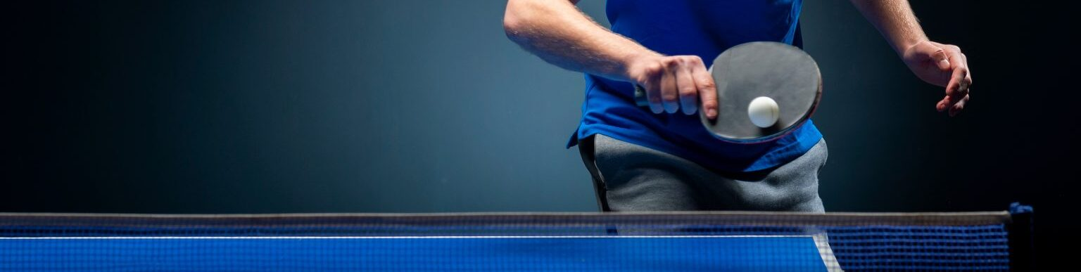 How to return backspin in table tennis