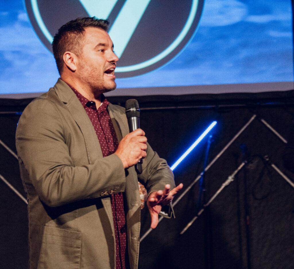 Vital Church Pastor Adam Preaching