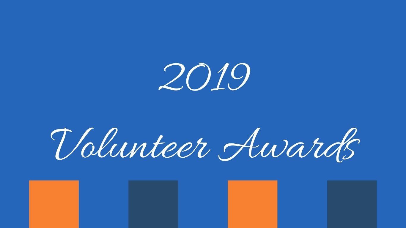 2019 Volunteer Appreciation Awards