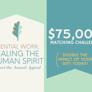 $75,000 Matching Gift Challenge