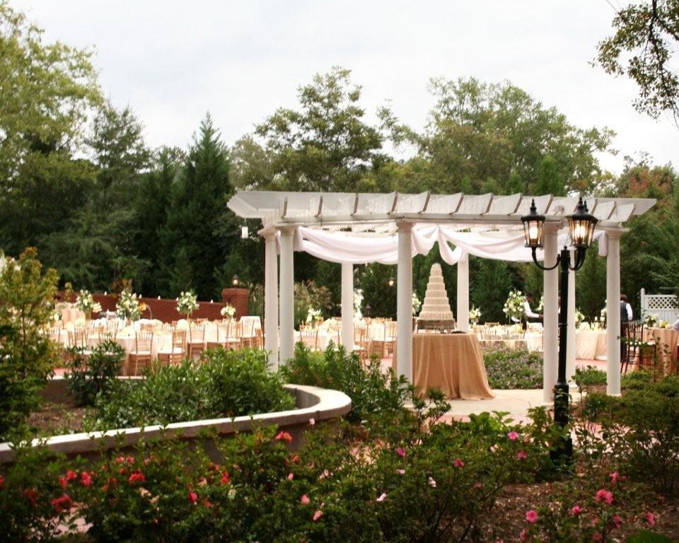 Elegant Garden Reception